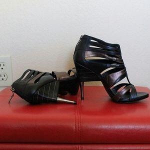 Open Toe with Unique Heels